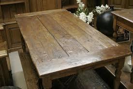 elegant rustic dining table in simple design idea furniture