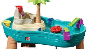 step 2 water table with umbrella step2 splish splash seas water table review youtube