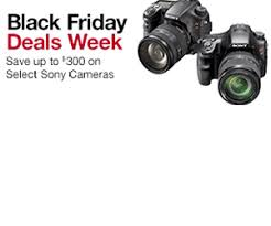 amazon black friday photography deals black friday deals week offers up to 300 off sony cameras