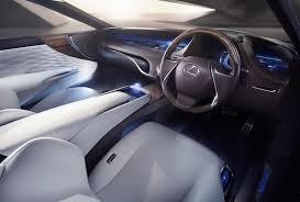 lexus sedan features lexus lf fc luxury sedan coming before 2020