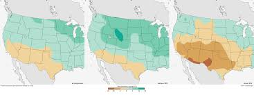 Cities In Colorado Map by Future Temperature And Precipitation Change In Colorado Noaa