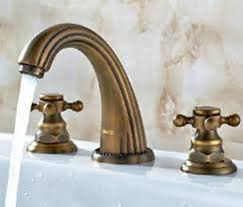 Bathroom Faucet Fixtures by Antique Brass Bathroom Faucet At Home Depot Home Design And Decor