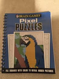 free brain games pixel puzzles coloring book fill squares