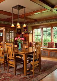 mission style dining room furniture 221 best craftsman dining rooms images on pinterest craftsman