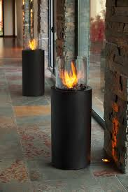totem commerce portable ethanol fireplace planika