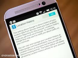 Maps Location History Understanding Google U0027s Android Location Tracking Android Central