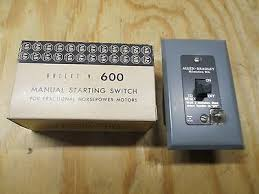 motor rated switch with pilot light allen bradley 600 tkx109 manual starting switch with neon pilot