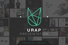 design logo ppt urap powerpoint template presentation templates creative market