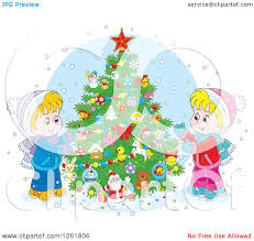 outdoor christmas tree clipart clipartxtras