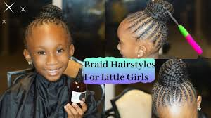 kids braided hairstyles hairstyles for your little girls youtube