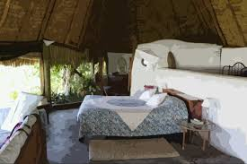 samatian island lodge and record lake levels n samat bedroom scene jpg