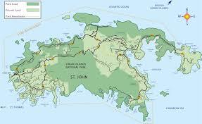 Map Of Caribbean Sea Islands by St John Virgin Islands Map World Map