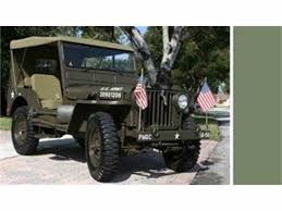 willys army jeep 1952 willys military jeep for sale classiccars com cc 992425