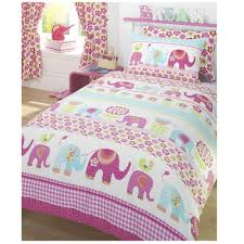 Toddler Duvet Cover Argos Elephant Bedding For Girls Cover U0026 Pillow Case Set Girls