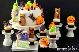 halloween peeps cake pint sized baker
