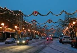 town street christmas decorations pictures photos and images for