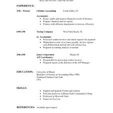 simple c v format sample download standard resume template haadyaooverbayresortcom resume
