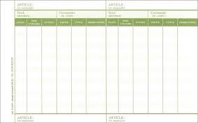 matériel de bureau comptabilité fiche de stock permanent comptabilité matières gestion