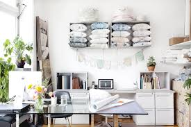 Indonesia Home Decor Eskayel U0027s Stylish Home Office Home Tours 2014 Lonny