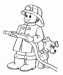 fireman sam pictures kids coloring