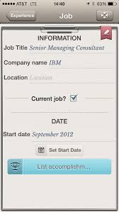 Best Resume App Android by Build And Maintain Your Resume With The Help Of These Five Apps