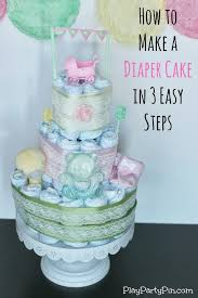 diper cake how to make a cake with step by step cake