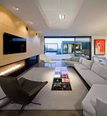 ultra modern living room interior design