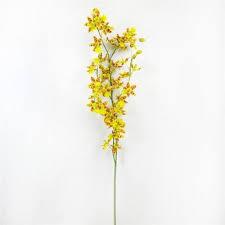 oncidium orchid 50 orchid artificial flower oncidium orchid spray buy