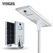 all in one solar street light why do we use all in one solar street light yangfa lighting