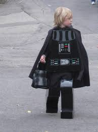 Kids Lego Halloween Costume Homemade Lego Style Darth Vader Costume Kids Halloween