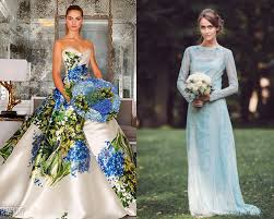 green wedding dress fresh and modish blue green wedding colors everafterguide