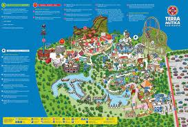 Aquatica Orlando Map by