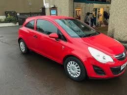 vauxhall corsa vauxhall corsa 2012 1 0 litre stunning red 1 year mot and fully