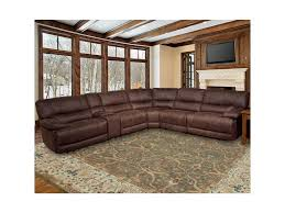 parker living pegasus 5 seater power reclining sectional sofa with