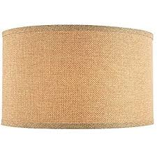 linen large drum lamp shade with spider assembly 17 inches wide