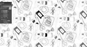 hand drawn wallpaper skillshare projects