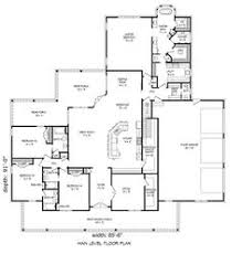 Large Ranch Floor Plans Craftsman Style House Plan 3 Beds 2 5 Baths 2091 Sq Ft Plan 17