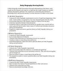 company bio template how to write an agent bio 10 knockout