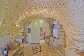 dining room in french 250m two french stone houses for sale in saint chinian hérault