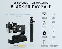 amazon black friday sales starts luuv action gimbal black friday sale on amazon launchpad