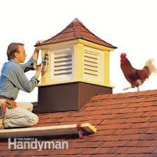 How To Build A Shed Roof House by How To Build A Cupola Family Handyman