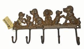 cute dog wall hooks for animal pet lovers decorative wall hooks