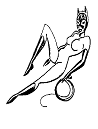 catwoman pose coloring pages best place to color