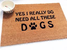 boxer dog doormat dog rug door mat yes i really do need all these dogs by dognatti