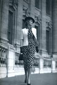 polka dot dresses retro style from 1920s to 1960s
