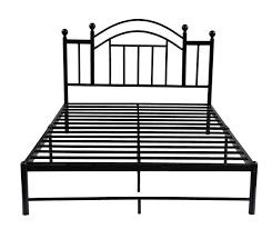 bedroom gorgeous metal platform bed frame queen with chic design