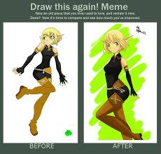 Meme Xx - draw this again meme wakfu fanart of evangelyne by sofia xx on
