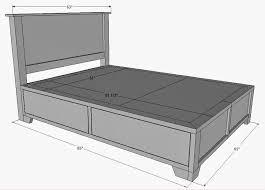 Queen Bed Measurements Queen Size Bed Width Remesla Info