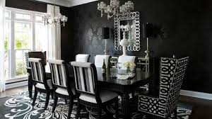 Black Chandelier Dining Room Amusing Dining Room Awesome Design With Rectangular In Black