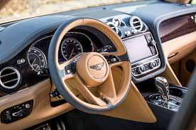 bentley steering wheel 2017 bentley bentayga steering wheel motor trend
